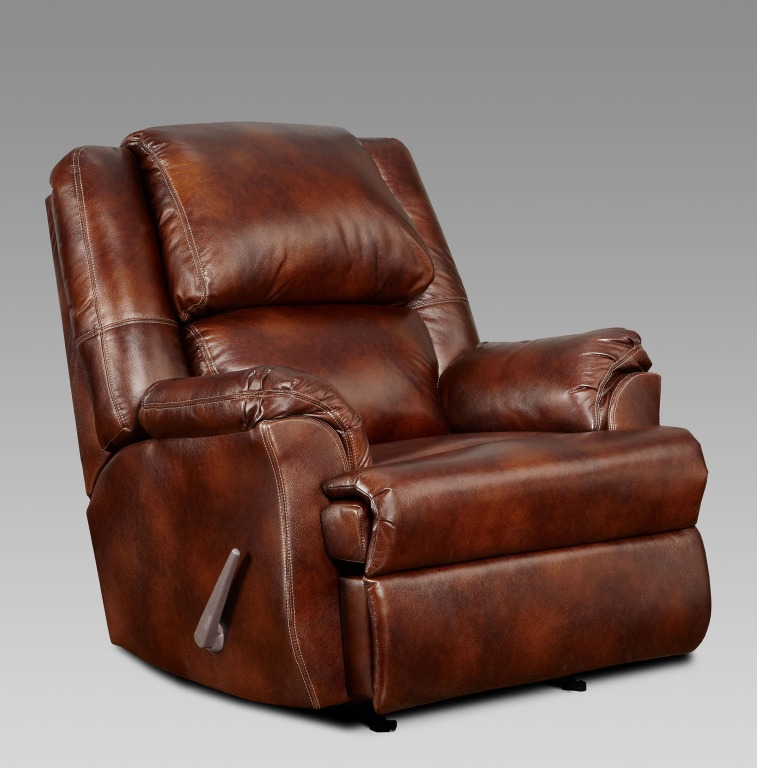 mesa reclining chair in chesnut