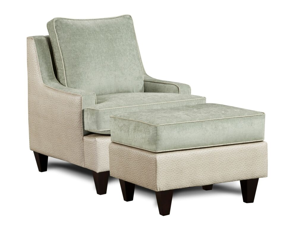 monte carlo chair & otoman in jade