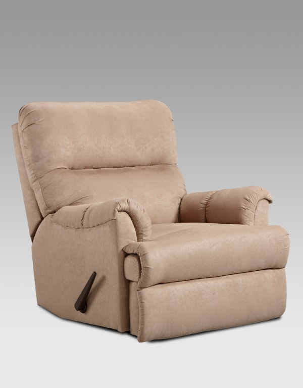 patriot reclining chair in camel